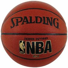 NEW Spalding NBA Zi O Official Size Indoor Outdoor Basketball FREE SHIPPING