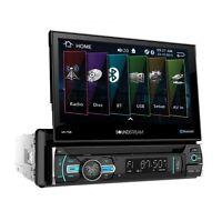 "NEW Soundstream 1 Din VR-75B DVD/CD/MP3 Player Flip Up 7"" LCD Bluetooth USB AUX"