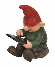 Vivid Arts - PLAYFUL GNOMES - Son Gnome With Leafpad