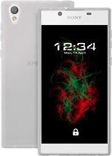 Funda para Sony xpetia L1 (Transparente) Cubierta del iPad tpu-t-crystal