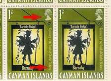 Elizabeth II (1952-Now) Caymanian Stamp Blocks