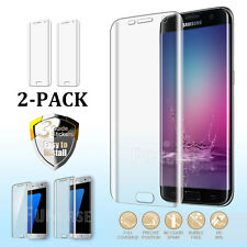 Case Friendly Full Coverage Galaxy S8 Plus Screen Protector for Samsung S7 edge