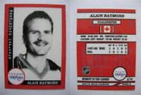 2015 SCA Alain Raymond washington capitals goalie never issued produced #d/10