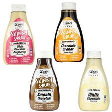 Skinny Food Zero Calories Chocoholic Syrup Pack White Chocolate Raspberry Orange