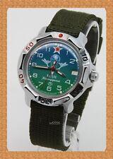 Vostok russian military mechanical watch # 811818 new nylon strap (Hand-winding)