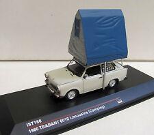 Ist188 Trabant 601s limousine con Tetto Tenda scala 1:43 merce nuova con imballo originale