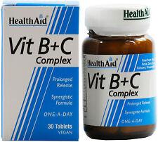 Health Aid VIT B + C Complex - 30 Compresse