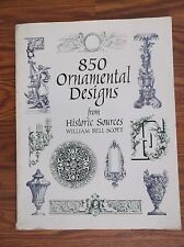 850 Ornamental Designs (Dover Pictorial Archives) Scott, William Bell