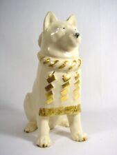 Kyo Yaki Akita Dog Figurine Kiyomizu Ware Grand Champion Artist Signed & Box