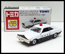 TOMICA 35TH APiTA TOYOTA CORONA 2000GT 1/61 Japan Police Patrol Car TOMY