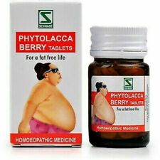 4 Pack Dr.Willmar Schwabe Phytolacca Berry Tablets (20g) Managing Excess Weight