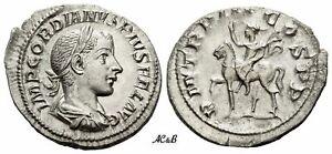 AC&B-1180. Roman Empire. Gordian III augustus, 238-244. Denarius