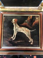 dog portrait oil painting