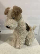 New ListingToys R Us Animal Alley Wire Hair Fox Terrier Dog Sitting Plush 2000 13�