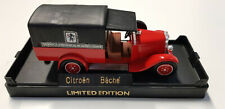SOLIDO - CITROEN C4F PICK-UP FIRE ENGINE- SERVICE D' INCENDIE ET DE SECOURS 1930