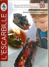 L'ESCARBILLE N°130 - LA MALINE (2) / POMPE A INCENDIE / UNE MAJOR AU 1/8