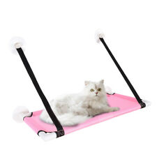 Cat Window Perch Hammock Bed Cooling Breathable Deck Window Suction Cups D7R4