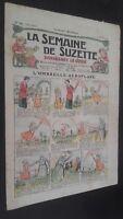 Revista Dibujada La Semana De Suzette que Aparecen El Jueves 1929 N º 41 ABE