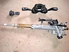 BMW E46 steering column shaft,key,ignition tumbler,switch,clock spring E83 X3