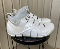 Men's 2006 Nike LeBron 4 White Chrome US Size 11 Pre-owned