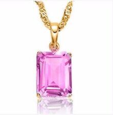 Unbranded Sapphire Yellow Gold Fine Necklaces & Pendants