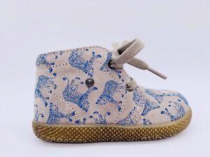 Falcotto (Naturino) Sneaker Schuhe SEAHORSE, Gr. 21, grau, blau, NEU, NP 72,90€