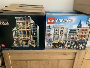 Lego Creator Expert 10255 Assembly Square & 10278 Police Station Bnisb Modular