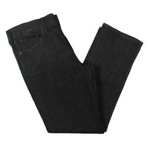 Polo Ralph Lauren Mens The Prospect Black Straight Leg Jeans 38/30 BHFO 6437