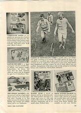 1968 PAPER AD Toy Fli Back Astro Spin Yo Yo Thunderbird TV Space Ships Rocket