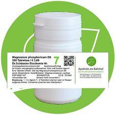 Schüßler - Salz 7 Magnesium phos. D6 200 Tabletten PZN 08001157