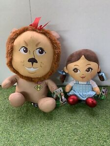 The Wizard Of Oz Plush Toys Dorothy 25 cm And Lion 38 cm