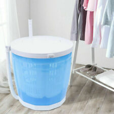 Portable Compact Portable Handle Washer Dryer Mini Washing Machine & Spin Dryer