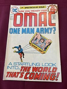 1974 oct DC Comics Vol 1,#1 One Man Army? The World That's Coming