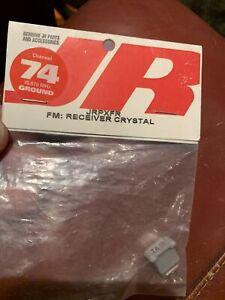 JR  JRPXFR channel 74 - FM Receiver Crystal 75.670 - JR Sport