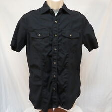 Rock & Republic Black Shirt Size S