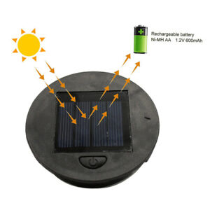 1/2pcs Battery Box Replacement Top Home Easy Install Professional Solar Lamp