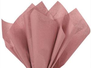 "Bulk Tissue Paper 15"" X 20"" - 50 or 100 Sheets Packs Pom Gift Favors 48+ Color"