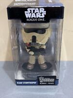 Funko Wobblers Star Wars Rouge One Scarif Stormtrooper Collectible Bobble Head