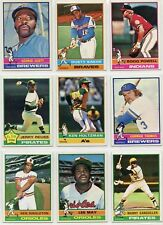 1976 76 Topps LOT YOU PICK SINGLES 8 cents -- COMPLETE YOUR SET!! Updated 4/2/19