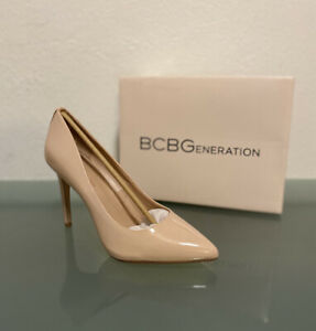 Bcbgeneration Women's Smooth Patent Pumps Size 8