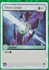 1 x Bakugan Age of Aurelus Haos Laser Action Card - ENG 24 CO AA  New