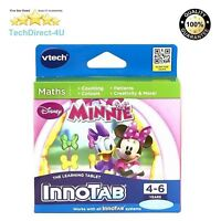 New VTech InnoTab 1 2 3 3S Minnie Mouse Game Minnie and Friends Disney Official