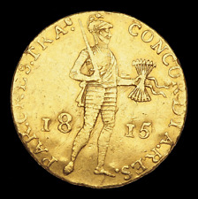 NETHERLANDS. Willem I, Gold Ducat, 1815
