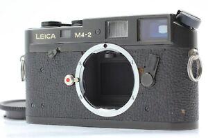 [Exc+++++] Leica M4-2  Black 35mm Rangefinder Film Camera From JAPAN 2527