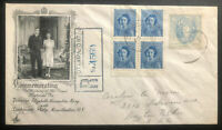 1948 Ottawa Canada First Day Cover FDC Queen Elizabeth Royal Weeding Issue C