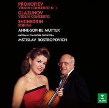 Glazunov & Prokofiev Violin Concertos Anne-sophie Mutter 0825646131365