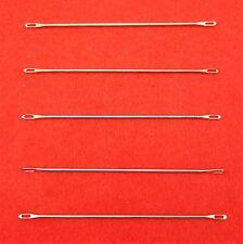 Neu 5 Stck. Umhängenadel 4.5 - 5.0 mm für Strickmaschinen - Double Eye Needles