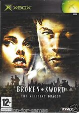 BROKEN SWORD THE SLEEPING DRAGON for Xbox - with box & manual - PAL