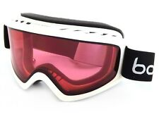 Bolle Freeze Ski Snowboarding Goggles Shiny White / Vermillion Cat.2 21488