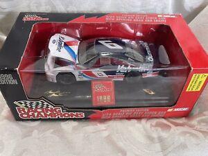 1996 Racing Champions 1/24 Mark Martin #6 Premier Ed. Opening Hood NASCAR  NIB!